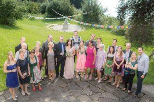Hochzeitsfotografie Allgäu Gruppenfoto